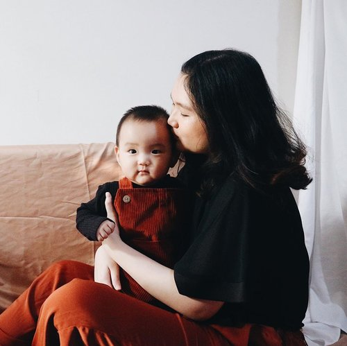 Happy 10 months my forever baby ❤️ Time flies too fast!  Thank you for being a smart, cute, handsome and happy boy for mama and papa 🥰 We always love you forever ❤️ #10mosold #babymikkel . . . #clozetteid