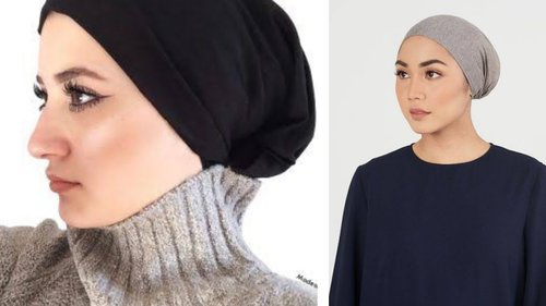 DIY!! INNER CAP FOR HIJAB IN 3 MINUTES - YouTube