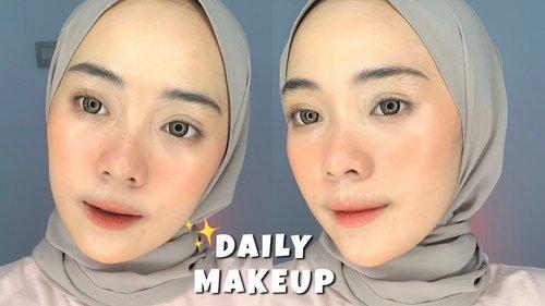Daily Makeup Super Simple!! | Putri Melati - YouTube