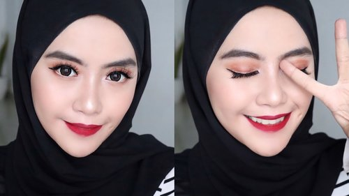 Bold Red Lips Makeup Tutorial - Shafira Eden - YouTube
