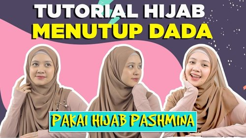 TUTORIAL PASHMINA SUPER SIMPLE ALA AKU! - YouTube