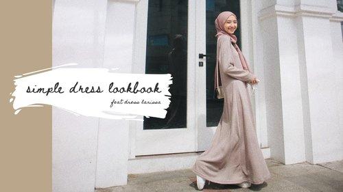 Simple Dress Outfit | Hijab Lookbook // #ootd - YouTube