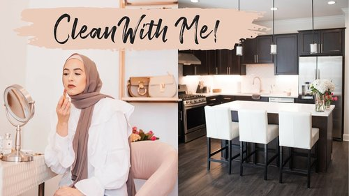 Clean With Me! | How I Wash My Hijabs - YouTube