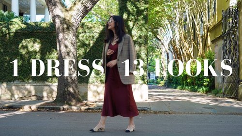 "<div class=""photoCaption"">How To Wear 1 Dress 13 Ways 