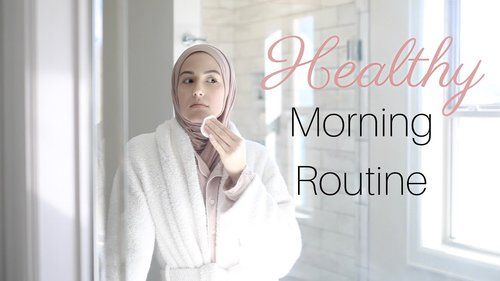 My Healthy Morning Routine! - YouTube