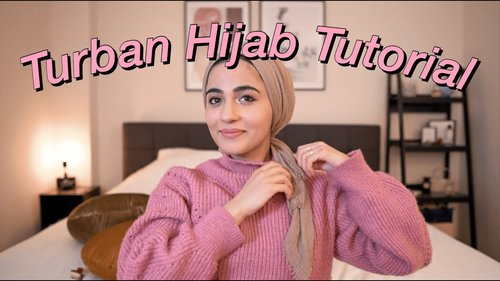 Turban Hijab Tutorial (super easy) | for everyday life | - YouTube