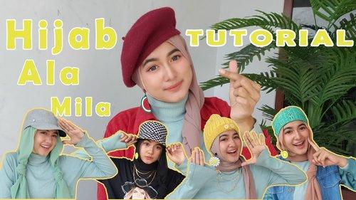5 STYLE HIJAB PAKAI TOPI - YouTube