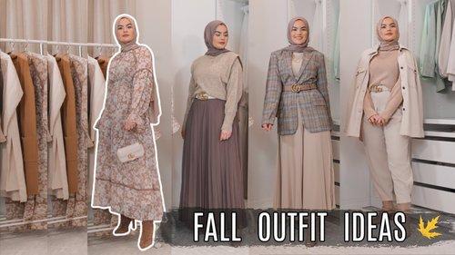 MODEST FALL OUTFITS | Fall Fashion Lookbook 2020 - YouTube