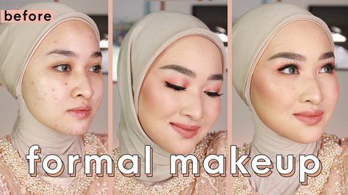 Engagement / Graduation /  bridesmaids Makeup w/ Drugstore & Local Products |Makeup Lamaran / Wisuda - YouTube