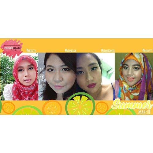 Team Summer bit.ly/virly-BSseason  #Beautiesquad  #BSseason  #BSsummer  #MakeupCollaboration #SeasonInspiredMakeup #SummerInspiredMakeup  #IndonesianBeautyBlogger  #BloggerCrony  #indonesianhijabblogger  #KEB #clozetteid  #FOTD