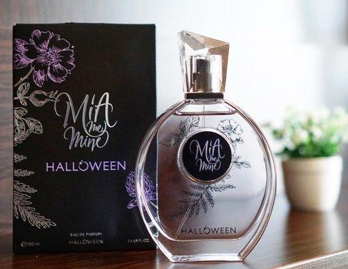 Beberapa minggu yang lalu dikirimin Mia Me Mine Halloween Eau De Parfum sama @cnf_perfumery dan wanginya dominan musk ❤️ _ Buat yang suka aroma musky seperti aku, rekomen banget parfum ini! 💕 #elinminireview #clozetteid