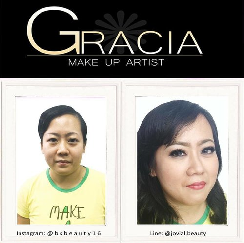 Confidence is one of the power unleash through makeup transformation. It's just amazing how makeup can transform someone.  Here is a makeup transformation I did for Mrs. Ina. Thank you for trusting me to do your makeup!  Makeup by #GraciaMakeupArtist ♥ #motd #bsbeauty16 #clozetteid