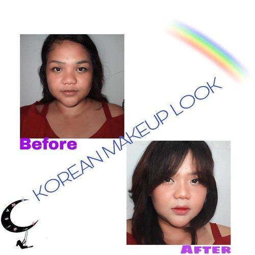 How do i look? Am i look like korean girl? Maafkan nyong ambon yg mo kek cewe2 korea ini 🤣🤣🤣🤣 #saranghae 😙  Makeup  #ulzzanggirl #koreanmakeup #ulzzangmakeup #indobeautygram #indobeautyvlogger #Indobeautyblogger #openendorse #indonesianfemaleblogger #likeforlike #lfl #endorsement #jakartabeautyblogger #vloggerjakarta #beautyvloggerjakarta #makeup #beautynesiamember  #bvloggerid #beautysquadid #ivgbeauty #bunnyneedsmakeup #indobeautysquad @bunnyneedsmakeup @indobeautysquad @ragam_kecantikan @tampilcantik #tampilcantik #clozetteid #beforeafter