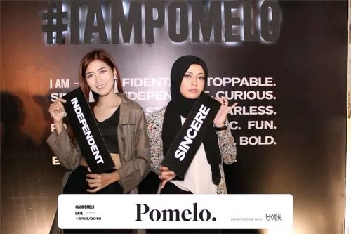 Attending @pomelofashion 2018 Summer Collection with @kaniasafitrii & @clozetteid. - #IAmPomelo  #Clozetteid #FindYourStyle #fashionshow