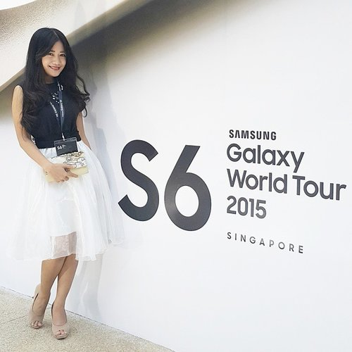 From Samsung SEA World Tour 2015 #latepost #ootd #ootdmagazine #ootdindo #fashion #fashiondiaries #fashionista #fashionable #lookbookIndonesia #beritafashion #formaldaily #GalaxyS6 #GalaxyS6Edge #launch #launchparty #tulleskirt #clozetteambassador #clozetteid @clozetteid