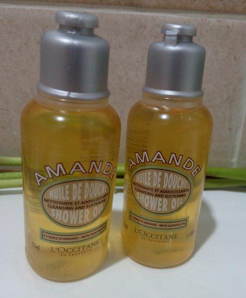 New cleansing & softening shower oil!