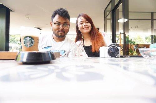 Sesekali post foto berdua gapapa lah yha 🤭Komuk ngapa begitu si kak @brian.jordi94 ..Anyway semangat besok wiken!..📸 : @andarafitri#Clozetteid