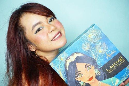 Hayo siapa yang belum nonton Aladdin & Princess Jasmine?Biar asiq nonton Aladdin sama Princess Jasmine, ke bioskopnya pake makeup look ala Princess Jasmine dooong! Nih aku udah Recreate Princess Jasmine's Look, cantik banget kan 😍Disini aku pakai produk dari @lakmemakeup x @disneyindonesia limited edition nih! ❤So, siapa yang udah siap nonton Aladdin & Princess Jasmine? 😍Details :Lakme Face Stylist Blush DuosLakme Precision Liquid EyelinerLakme Illuminating Eyeshadow Palette - Royal PersiaLakme Illuminating Sun-Kissed BronzerLakme Illuminating Moon-Lit HighlighterLakme Sculpt Studio Hi-Def Matte LipstickLakme Matte Melt Liquid Lip Color - Mild MauveAnyway nanti tutorialnya aku up di youtube yaa, Day to Night Princess Jasmine's Makeup Look, jangan lupa subscribe! #lakmeawholenewlook #lakmemakeup #lakmeabsolutereinventprecisioneyebrowartist #clozetteid