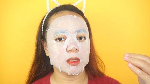 Double masking untuk kulit berjerawat? Emang boleh? Ya boleh dong! Yuk nonton caranya di youtube channel aku 📺Klik link di bio!#clozetteid #doublemasking #sheetmaskreview #skincaretips #maroonfreedayvlog