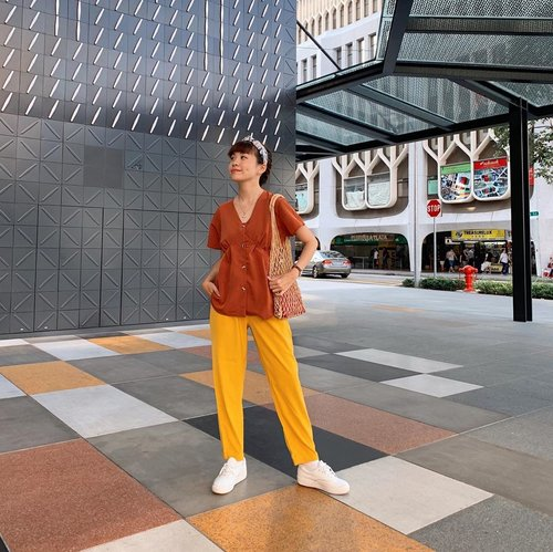"""I am not open to many people. I'm usually quiet and I don't really like attention. So if I like you enough to show you the real me, you must be very special.""........#style #ootd #whatiwore #steviewears #singapore #travel #clozetteid #throwback #shotoniphone #fashion #yellow #knowwhatyouwear"