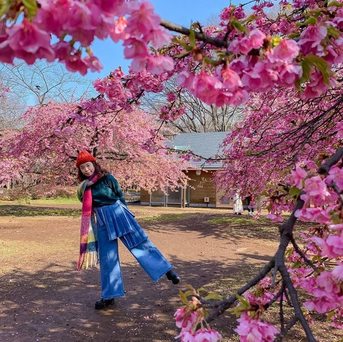 #Throwback to Mar 2019 🇯🇵 • . . . . . . . . . . . #steviewears #collabwithstevie #sonyforher #style #ootd #zalorastyleedit #zalorasquad #zaloraid #spring #sakura #clozetteid #shotoniphone
