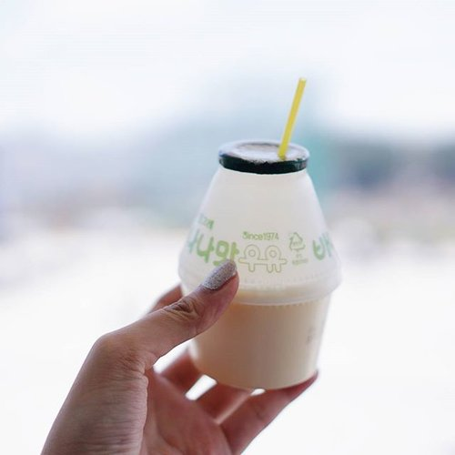 바나나~~ 우유~~~ 😗 #istellainseoul #clozetteid #clozette #travelkorea #travelinkorea #explorekorea #우유 #바나나