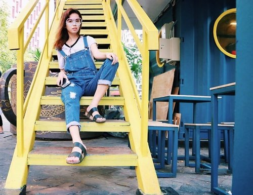 Dont ever let fear turn you away from your playful heart. - - - #clozetteid #badhairday