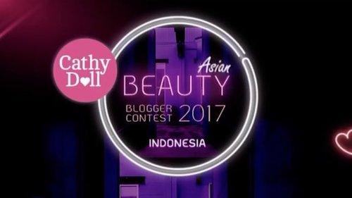 New video is up on my channel. 💖 - Thank you  @cathydollindonesia for choosing me as Top 30 Finalist. - #ABBCONTEST2017 #cathydollindonesia #karmarts #karmartsclub #clozetteid #beautyblogger #beautyvlogger #beautynesia #medanbeautygram #indobeautygram