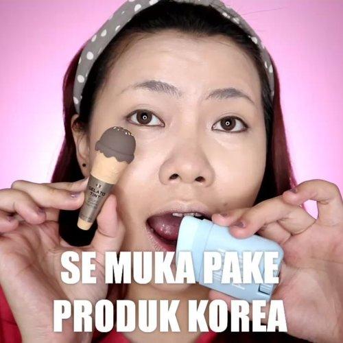 Se muka pake produk Korea? Oke lah 👌🏻 . Produk yang dipake: • @altheaofficial_id @altheakorea Sunscreen || Concealer • @celefit_id @celefit_official Bella Palette • @16.brand Blush On • @samyangfoods  x @tonymoly_street Highlighter • @thefaceshopid Gelato Tint . . Produk yg bisa kalian beli di CHARIS SHOP aku : • @easypeasy_cosmetics Moisturizer Stick • @selfcoding_official Foundation • Catrin Sunkill Powder • @vuedepulang Oh Rolla Mascara • @selfbeauty_co Bronzer [Ini semua bisa kalian beli di CHARIS SHOP aku yah! Klik link di bio aku 👌🏻] @hicharis_official @charis_celeb . . . . 🎥Camera Canon EOS M100 🎛️Edit with @vivavideoapp Pro 🎶Bom - BOL4 . . . . . . . #makeupoftheday #tutorialmakeup #Tutorialdandan #makeuptutorial #tutorialmakeup #indobeautygram #makeupoftheday #beautybloggerindonesia #motd #popbelabeauty #flovivi #ClozetteID #cchannelid #cchannelbeautyid #undiscoveredmuas #worldwidemua #wakeupandmakeup #tipsskincare #skincare #cchannelmakeupid @tampilcantik @tips__kecantikan @tutorialmakeup_id @ragam_cantik @meriaswajah @syantiktutorial @ragam_kecantikan @zonacantikwanita @101_turorialmakeup @makeupsyantik @inspirasi_cantikmu @wowsyantik @elpeach_beauty @eliberry_beauty