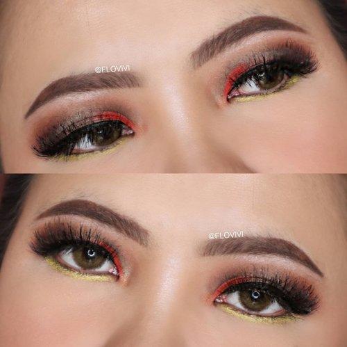 Ini Eyeshadow sebenarnya warna nya ga jelas bgt wkwkwk Tapi sayang kalo ga di upload jadi yaudah gpp ya biar beresi feeds juga 🤣😅 . • Eyeshadow : @morphebrushes 15T Eyeshadow Palette • Eyelashes : @joellybeauty Type Chocolate Pie • Softlens : Nobluk Brown . . . . . . . . #makeupoftheday #tutorialmakeup #Tutorialdandan #makeuptutorial #tutorialmakeup #indobeautygram #makeupoftheday #beautybloggerindonesia #motd #popbelabeauty #flovivi #ClozetteID #cchannelid #cchannelbeautyid #undiscoveredmuas #worldwidemua #wakeupandmakeup #tipsskincare #skincare #cchannelmakeupid @tampilcantik @tips__kecantikan @tutorialmakeup_id @ragam_cantik @meriaswajah @syantiktutorial @ragam_kecantikan @zonacantikwanita