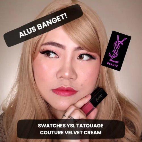 [SWATCHES] TATOUAGE COUTURE VELVET CREAM 💋 @yslbeauty 's No.1 Iconic Lipstick! . Kalian suka yg shade nomer brp guys? Komen di bawah ya! . #YSLBEAUTYID #flovivi #ysl #yslbeauty #makeup #lipswatches #ClozetteID