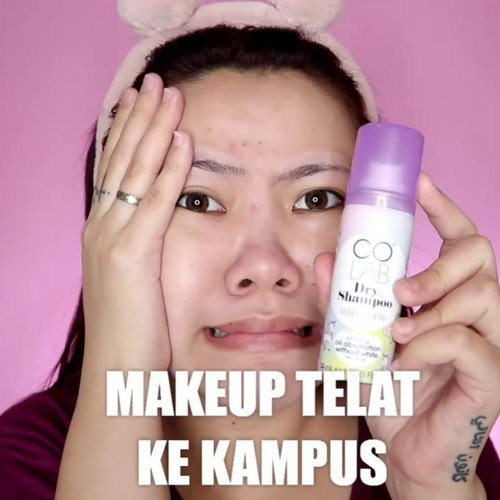 Nahh loh 🤣🤣 . Produk yg dipake: • @celefit_id Tone Up Cream • @pinkberrybeauty Foundation • @marckscosmeticind Powder • @pixycosmetics Blush • @f2f.cosmetics Mascara • @eminacosmetics Lip • @colabhairid Dry Shampoo . . . . . 🎥Camera Canon EOS M100 🎛️Edit with @vivavideoapp Pro . . . . . . . #makeupoftheday #tutorialmakeup #Tutorialdandan #makeuptutorial #tutorialmakeup #indobeautygram #makeupoftheday #beautybloggerindonesia #motd #popbelabeauty #flovivi #ClozetteID #cchannelid #cchannelbeautyid