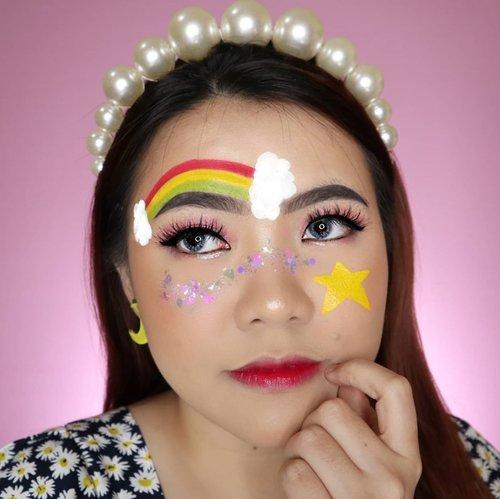 🌈𝕬𝖑𝖜𝖆𝖞𝖘 𝖇𝖊 𝖙𝖍𝖊 𝖇𝖊𝖘𝖙 𝖛𝖊𝖗𝖘𝖎𝖔𝖓 𝖔𝖋 𝖞𝖔𝖚𝖗𝖘𝖊𝖑𝖋⭐ . . . . . . . . . . #slave2beauty #makeupoftheday #allmodernmakeup #aestheticmakeup #aesthetic #artmakeup #makeupart #beautybloggerindonesia #motd #flovivi #ClozetteID #cchannelbeautyid #aestheticgrunge #softgirl #undiscoveredmuas #worldwidemua #wakeupandmakeup #cchannelmakeupid #rainbow
