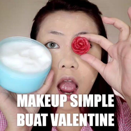 Kali aja butuh inspirasi make-up buat valentine 😅 Yang jomblo harap bersabar 🙏🏻 . Produk yg dipake : • Milk Soothing Gel @hicharis_official • Still Cushion @celefit_id @celefit_official • Loose Powder @maybelline • Bronzer, Blush & Highlighter @sadabycathysharon • Eyeshadow Cream With Me @hicharis_official • Eyeliner @sadabycathysharon • Tint Balm @theyeon_indonesia • Lip Cream @sadabycathysharon . . . . 🎥Camera Canon EOS M100 🎛️Edit with @vivavideoapp Pro . . . . . . . #makeupoftheday #tutorialmakeup #Tutorialdandan #makeuptutorial #tutorialmakeup #indobeautygram #makeupoftheday #beautybloggerindonesia #motd #popbelabeauty #flovivi #ClozetteID #cchannelid #cchannelbeautyid