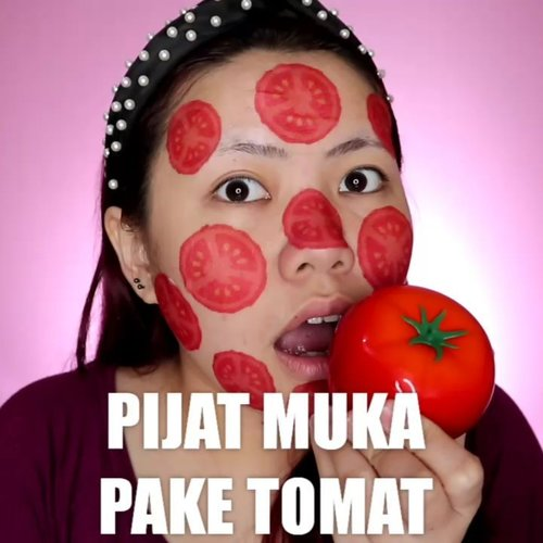 TOMATO SKINCARE 🍅 . Produk yang dipake : 🍅 @tonymoly.indo @tonymoly_street Tomatox Massage Pack 🍅 @kocostarid @kaycollection Tomato Slice Sheet Mask 🍅 @hicharis_official BANIA Tomato Soothing Gel 🍅 @smootoindonesia Tomato Gluta Aura Sleeping Mask . . . . . 🎥Camera Canon EOS M100 🎛️Edit with @vivavideoapp Pro 🎶Close to you - Lucian . . . . . . . #makeupoftheday #tutorialmakeup #Tutorialdandan #makeuptutorial #tutorialmakeup #indobeautygram #makeupoftheday #beautybloggerindonesia #motd #popbelabeauty #flovivi #ClozetteID #cchannelid #cchannelbeautyid @tampilcantik @tips__kecantikan @tutorialmakeup_id @ragam_cantik @meriaswajah @syantiktutorial @ragam_kecantikan @zonacantikwanita