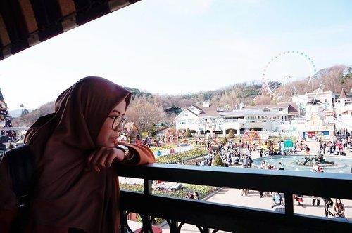 🎡🎢🎠 Rasanya tak cukup sehari explore Everland. 😆 #necgoestokorea #clozetteid