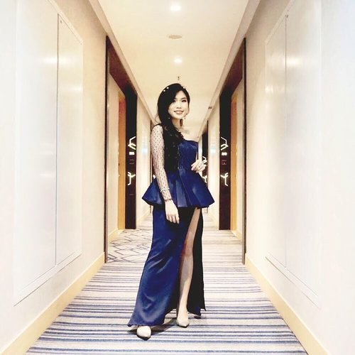 Rate photo of me wearing evening gown 😅. - - - #selfmade #eveninggown #ootd #fashion #styleinspo #ClozetteID