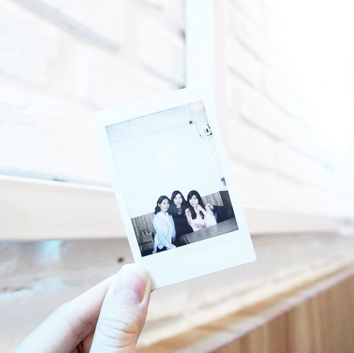 Creating memories with them is always fun and thrilling ( and too sentimental sometimes 😆 )-#sisterhood #bestfriends #polaroid #portrait #ClozetteID