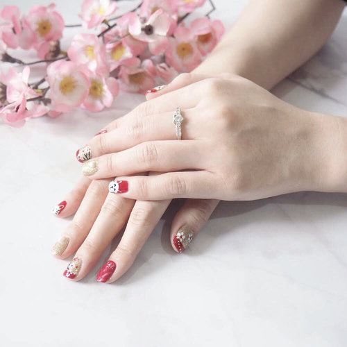 """<div class=""""photoCaption"""">Getting ready for Chinese New Year with manicure, pedicure, fully decorated nails done by one and only @menail.salon ❤️. I never get disappointed by the result though - maybe because they always mind all the small details that makes my hands, toes, and nails much more attractive and beautiful ( Could you notice those amazing marble details? 😍 ). Fyi, I got pampered at their branch in West area, Asia Beauty Center ☺️.<br /> -<br />  <a class=""""pink-url"""" target=""""_blank"""" href=""""http://m.id.clozette.co/search/query?term=manicure&siteseach=Submit"""">#manicure</a>  <a class=""""pink-url"""" target=""""_blank"""" href=""""http://m.id.clozette.co/search/query?term=pedicure&siteseach=Submit"""">#pedicure</a>  <a class=""""pink-url"""" target=""""_blank"""" href=""""http://m.id.clozette.co/search/query?term=nailart&siteseach=Submit"""">#nailart</a>  <a class=""""pink-url"""" target=""""_blank"""" href=""""http://m.id.clozette.co/search/query?term=ChineseNewYear&siteseach=Submit"""">#ChineseNewYear</a>  <a class=""""pink-url"""" target=""""_blank"""" href=""""http://m.id.clozette.co/search/query?term=nailoftheday&siteseach=Submit"""">#nailoftheday</a>  <a class=""""pink-url"""" target=""""_blank"""" href=""""http://m.id.clozette.co/search/query?term=ClozetteID&siteseach=Submit"""">#ClozetteID</a></div>"""