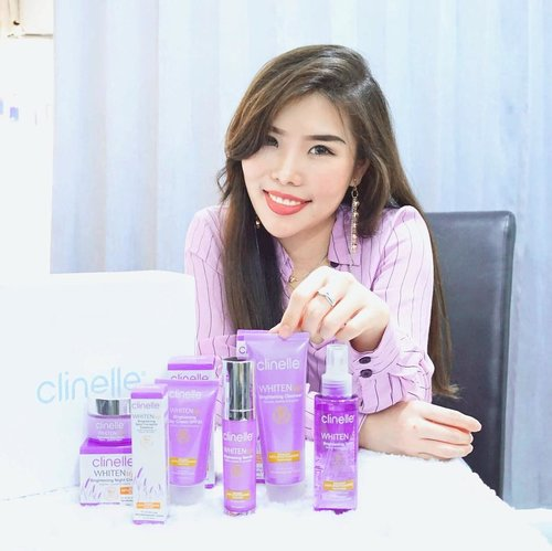 Brighter, healthier skin is everyone's goal, but the fact is that we live in environment where UV rays is all around us - and that cause trouble to our skin's health.-Hence, here I introduce you to newest brightening product series from trusted skincare line @clinelleid WhitenUp ! Comes with 7 variant and formulated with Japanese purple rice, vitamin C, daisy extract, and Great Mullein flower extract ( for the night cream ) - these products might help you to achieve your dream skin ✨. Wanna know more about this product ? Simply head to www.chelsheaflo.com because the review is now up! 😄--#Clinelle #ClinelleIndonesia #ClinelleWhitenUp #7SecretstotheHappySkin #RadiatetheBrightness #TheTrueHealthyRadiantSkin #collaboratewithcflo #ClozetteID