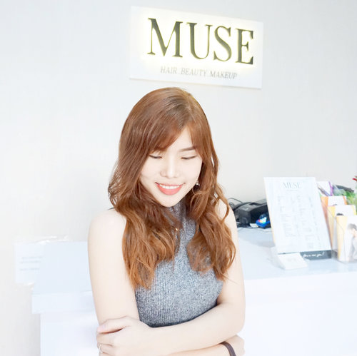 [Swipe for more] Super delighted with my new hair color perfectly done by @muse.hairsalon . Using only high quality hair color products plus the pleasant service done by the team, I am totally love the result! Started from IDR 350K only, you can achieve your dream hair color. Simply check @muse.hairsalon and drop them message.-Hello there my dream ginger hair! 🤓❤️.-#haircolor #copper #gingerhair #collaboratewithcflo #ClozetteID