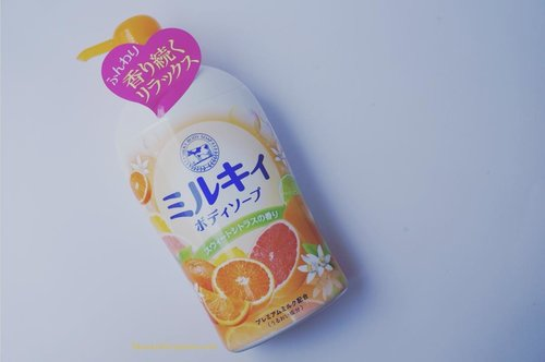 Review @cowstyleid #MilkBodySoap Refresh Citrus is up on my blog :) http://www.beautydiarykania.com/2015/11/review-cowstyle-milky-body-soap-refresh.html #beauty #blogger #beautyblogger #skincare #indonesianbeautyblogger #liquidsoap #kawaiibeautyjapan #potd #clozette #clozetteid