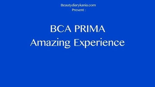 Mau tau serunya acara #AmazingBCAPRIMA  Bersama @goodlifebca & @atmprima cuss di tonton 😜 #BCAPRIMA  #clozetteid