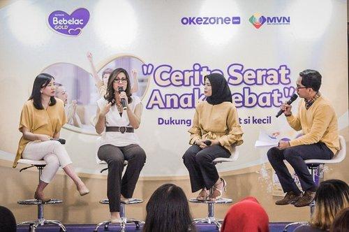Tau kah Ibu, 9 dari 10 anak di Indonesia ternyata kekurangan serat!Kekurangan serat mempengaruhi kesehatan saluran cerna. Sementara saluran cerna disebut juga sbg otak kedua manusia. So, kebayang dong pentingnya merawat kesehatan saluran cerna?Selasa lalu, aku berkesempaan sharing tentang pentingnya serat bagi tumbuh kembang anak bersama @bebeclub dan @okezonecom Insyaallah, besok kita akan sharing #tantanganperutsehat lagi bersama ibu lainnya. Ibu punya #ceritaseratanakhebat dengan si kecil kah? ..#cicidesricom #parentinglife #clozetteid