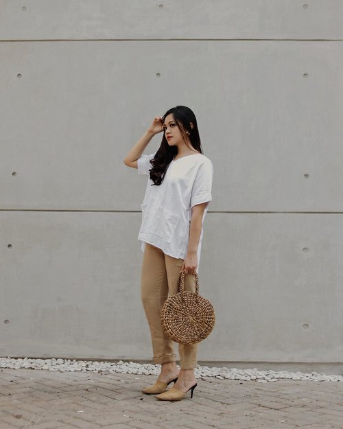 Forever in my neutrals @miroirstore #miroirlook