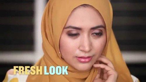 The Body Shop Fresh Look Make Up Tutorial With Natasha Farani - YouTube