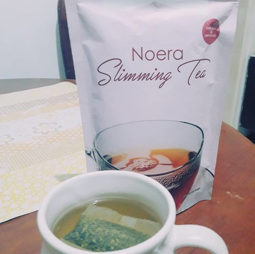 Recently I tried this tea just for fun and because I like green tea. It turns out this tea makes my body fresher and my digestive system works better...For more info check out my Blog https://beautynesiablog.id/19454.#bloggirlsid #bloggirlsidxnoera #noeraslimmingtea #noeraskincare