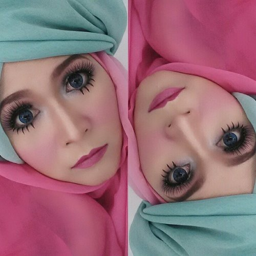 My pinkish makeup for Valentine's day #GuergiGiveaway #GuergiValentine #silkygirl_id #silkygirl #silkygirlcontest #makeupbyedelyne #hijabbyedelyne #hijabphotography #hijabfashion #hijabersID #fotdibb #mua #muaindonesia #indonesianbeautyblogger #hijabstyle #clozetteid #HOTD #ScarfMagz #makeup