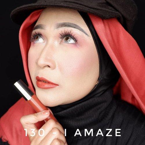 Ini 2 warna dari Loreal Paris Rouge Signature @getthelookid , nomer 130 - I AMAZE  dan 131 - I CAPTIVATE.Untuk swacth dan review lengkapnya kalian bisa lihat di video postingan sebelumnya ya. #brushedbyedelyne #makeup #lips #lipstick #lipstickoftheday #makeupideas #clozetteid #gorougesignature #ownyoursunset #getthelookid #bandungbeautyblogger #tribepost #instamakeup #influencer #instagram #bloggertyle #airbrushmakeup #nocukuralis #noeyebrowtrimming #hijab #hijabandmakeup #hijabi #hijabstyle @lorealindonesia @bandungbeautyblogger