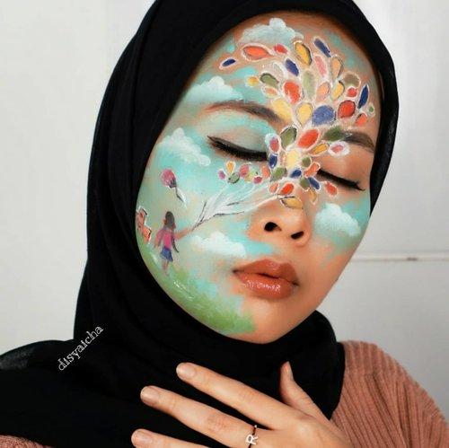 """ ketika kamu kecil,cita"" kamu pasti banyak??"" Pahamin sendiri dah maksud gambarnya😂  Coya . . . #artmakeup #vidgram #BEAUTYBLOGGERINDONESIA #indobeautygram #100daymakeupchallenge #beautyenthusiast #beauty #beautygram #makeup #makeuptutorial #contourtutorial #makeup #beautygoersid #indobeautygram #indoveautysquad #beautygram #beautybloggerindonesia #tasyashoutoutfarasya #clozetteid #clozette #ivgg #ivgbeauty #esqa #esqaddicted #minitutorial #indovigram #eotd #ibv  @beautybloggerindonesia @tampilcantik @ragam_kecantikan @cchannel_beauty @indobeautygram @tips_kecantikan @popbela_com @clozetteid @bloggermafia @wakeupandmakeup"